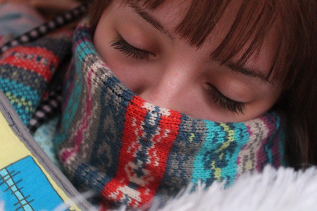 jas aan bij koud weer